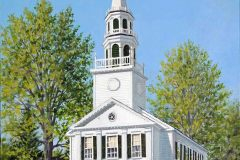 Painting of SBCC by David Merrill