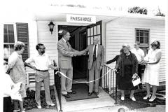 Dedication of Second Parish House Addition, 1986