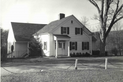 Parish House Front Facde, 1964
