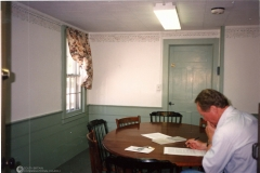 Parish House, Bassett Room with Rev. Ashby
