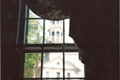 View of the Church from Parish House, Bassett Room