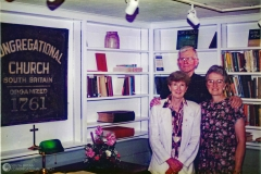 Dedication of the Collister Library, 1995