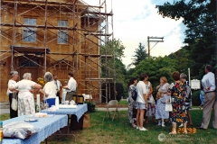 Deleading Front of Church, 1993