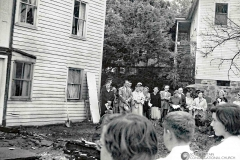 Parish House Reconstruction Groundbreaking, 1956