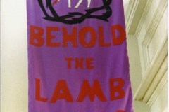 Church Sanctuary Eastertide Banner