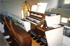 Schantz Pipe Organ in Sanctuary